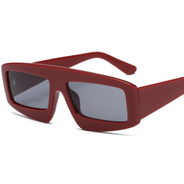 23f58a9af6e 2018 Master Design Brand Sunglasses Square Colored Lens Metal Men s and  Women s Sunglasses Summer Trend Eyewear