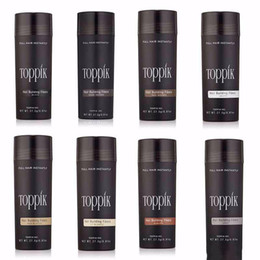 Instant Hair Australia - Toppik Hair Building Fibers 27.5g Toppik Hair Fiber Thinning Concealer Instant Keratin Hair Powder Black Spray Applicator DHL