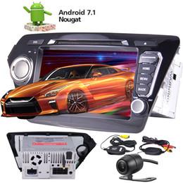"$enCountryForm.capitalKeyWord Canada - 8"" Android 7.1 Car Radio car DVD Player GPS Navigation Bluetooth Wireless Rear View Camera For KIA K2 2011-2012 Steering Wheel Control"