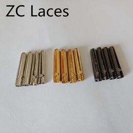 Tips For Black Hair Australia - Luxury 4pcs 1 set of 3.8x23mm Shoelace Tip Aglet ends Bullet Metal Lock Clips DIY for Clothes laces Silver, Gold, GunBlack Rose