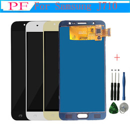 $enCountryForm.capitalKeyWord NZ - High Quality LCD+Touch Screen For Samsung Galaxy J7 2016 J710 J710F J710M J710H LCD Display Digitizer Assembly 5.5inch + Repair Tool