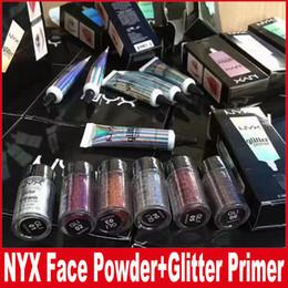 nyx eyeshadow primer 2019 - NYX Glitter Primer Cream Concealer Cream NYX Glitter Face and Body Shimmer Powder 6 color Eyeshadow Powder