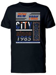 Wholesale New York City Since Men s Tee T Shirt For Men Best Deals Short Sleeve Thanksgiving Day Custom Big Size Group T Shirts