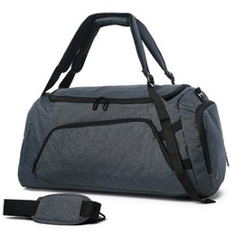 $enCountryForm.capitalKeyWord UK - Men Gym Bag With Shoes Pockets For Training Fitness Yoga Sport Bags Outdoor Travel Luggage Duffel Women Totes Large Backpacks