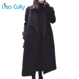 $enCountryForm.capitalKeyWord NZ - wholesale New Fashion Women Long Woolen Coat Winter Casual Women Black Wool Coat Jackets Women Thick Warm Overcoat Outwear