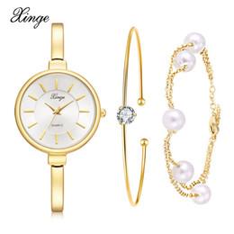 Discount japan movement watches - Watches Women Fashion Luxury Gold Business Watch High Quality Japan Movement Waterproof Hours Ladies Quartz Bracelet Wat
