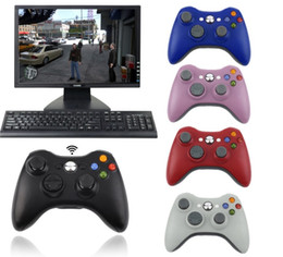 windows computer games Canada - 2.4G Wireless Controller USB Game Gaming Gamepad Joystick Receiver for XBOX 360 for PC Computer for WINDOWS XP WIN7 WIN8 WIN8.1