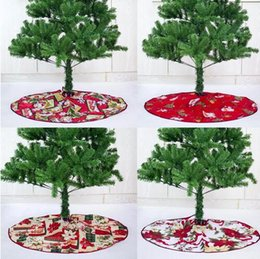 $enCountryForm.capitalKeyWord NZ - Red Christmas Tree Skirt Carpet Party Ornaments Christmas Decoration for Home Non-woven Xmas Tree Skirt 60 90cm