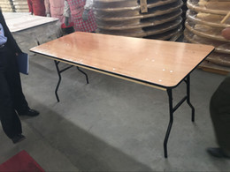 Tables Low Price Australia - low price plywood 72''   66''   60'' long banquet dining round table for event