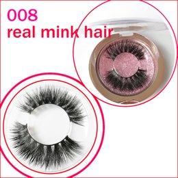 $enCountryForm.capitalKeyWord Canada - 100% Real Mink Hair False Eyelashes Soft Handmade Long Full Strips Fake Lashes Eyelashes Extension Beauty Makeup Tools gr146