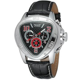 Wholesale JARGAR men s fashion casual heart three eye automatic mechanical watches gift