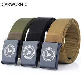 $enCountryForm.capitalKeyWord Canada - CARWORNIC Tactical  Belt Men Heavy Duty Automatic Plastic buckle Nylon Belt Unisex US Army Multifunctional Trainin