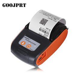 GOOJPRT PT - Machine de reçu sans fil portable pour imprimante thermique de 58MM Bluetooth de 58MM Pour Windows Android iOS