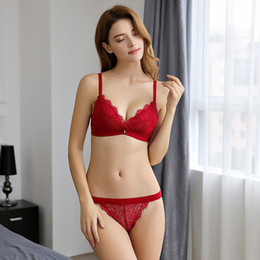 9ed84fe576 Hot Sale Sexy Women Bras Set Push Up 3 4 Cup Fashion Women s Underwear  Adjusted Straps Bra 4 Colors Big Size Free Shipping