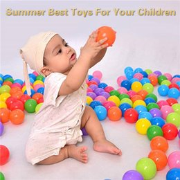 $enCountryForm.capitalKeyWord Australia - 100 Pcs Baby Ocean Ball Pits Toys Eco-friendly Plastic Water Pool Ocean Wave Balls Kids Outdoor Funny Sports Toys Summer Best Toys For Kids
