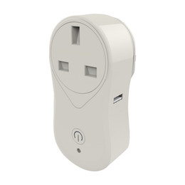 Power outlet remote control online shopping - Smart Plug Mini Wifi Socket US UK EU Plug Outlet Remote Control Power Strip Timing Switch Works with Amazon Alexa Echo