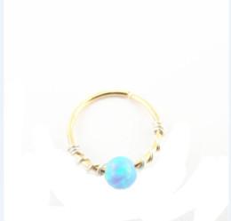3e3fd49f0 Earring tiny online shopping - 12pcs Opal cartilage helix earring tragus  Small Opal cartliage Ring tiny