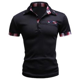 China 2017 Fashion Brand Men Polo Shirt Solid Short -Sleeve Slim Fit Polo Mens Embroided Shirt Men Polo Shirts Casual Camisa Polos F1 cheap men slim fit polo shirt suppliers