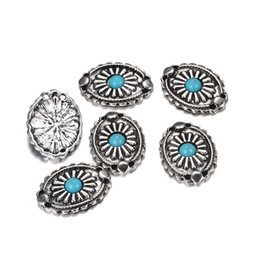Discount wholesale jewelry evil eye connectors - 100pcs lot 2*1.3cm Evil Eye Connector Charm Beads Antique Silver metal connectors For Jewelry Bracelet DIY Crafts