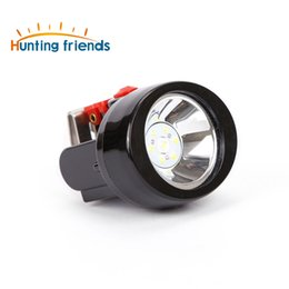 headlamps for hunting UK - 30pcs lot Mining Llight Rechargeable Headlamp Lamp Miners LED Headlamps Flashlight KL2.8LM Camping Lights for Night Running Fishing Hunting