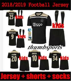 cce523ecf Best Black Jersey Football Canada - 2018 2019 Best quality Ajax kids Soccer  Jersey 18 19