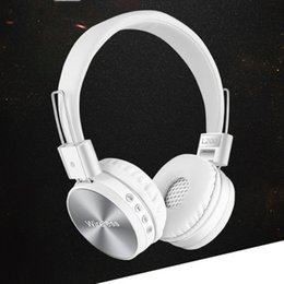 Wholesale Bluetooth Wireless Headphones With Microphone Foldable Over Ear HIFI Bluetooth Headset For Mobile Phone PC Computer