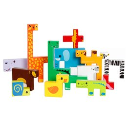 $enCountryForm.capitalKeyWord Australia - Blocks Bricks Wooden Tangram Brain Teaser Jigsaw Giraffe Animals Block Toys Tetris Game Kids Children Educational Toys Set MZ81