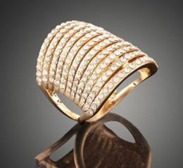 $enCountryForm.capitalKeyWord Australia - New arrival women fashion jewelry hollow diamond zircon bride engagement wedding ring girl festival gift Christmas birthday