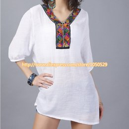 Discount european clothing styles for women - 2018 new summer maternity long style tops European Blouse Shirts Casual Shirt Tops clothes for pregnant women M281