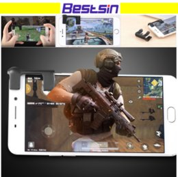 Discount wireless game controllers - Bestsin MST-G1 1st Generation Mini Mobile Game Joystick Shooting Game Physical Touch Game Controller For Increase the Sh