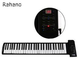 8f5367e949a wholesale Portable 61 Soft Keys Flexible Electronic Keyboard Roll Up Digital  Piano with USB MIDI