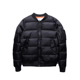 $enCountryForm.capitalKeyWord UK - Kanye West Jacket Classic Mens Coats Winter Clothes Men Parka Jaqueta Masculina Men Jacket Solid Quilted Jackets Bomber Men