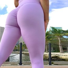 Sexy Yoga Pants For Women Canada - women gym leggings for Women Yoga Pants Sexy Sport Leggings Push Up Elasticity High Waist Fitness Sports Tight Quick Dry Breathable Tights