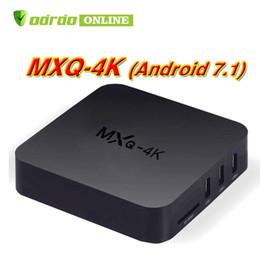 $enCountryForm.capitalKeyWord NZ - MXQ Pro MXQ 4K Android 7.1 TV Box Amlogic RK3229 Quad Core 64bit Smart Mini PC 1G 8G Support Wifi 4K H.265 Streaming Google Media Player