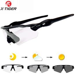 45d9bd550f5 X-TIGER Photochromic Cycling Glasses Racing Bicycle Eyewear Polarized Mountain  Bike Sun Glasses Cycling Sunglasses Man Women