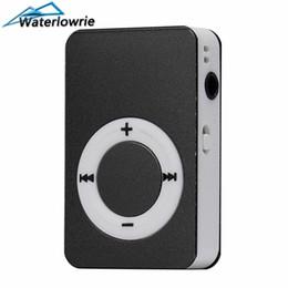 $enCountryForm.capitalKeyWord NZ - Waterlowrie Fashion Music Player Metal matte material walkman Sport Mp 3 Support 8G TF Card Mini MP3-Player usb mp3 for Gift