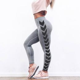 $enCountryForm.capitalKeyWord Australia - Womens Arrow Print Yoga Skinny Workout Gym Leggings Fitness Sports Cropped Pants Athletic Pants Sportswear Women Mulheres #3