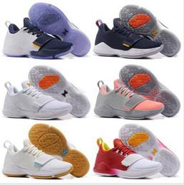 effd20d7985 2017 Men Paul George PG 1 Dream Off Hook Zoom Low Basketball Sport Shoes  Adult I Glacier Grey Ivory Ferocity Shining Sneakers 40-46