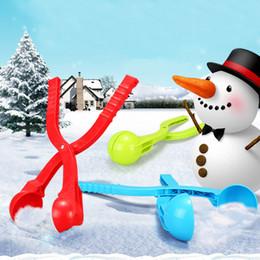 $enCountryForm.capitalKeyWord Australia - 20 CM 35cm NEW Winter Snow Ball Maker Sand Mold Tool Kids Toy Lightweight Compact Snowball Fight Outdoor Sport Tool Toy Sport