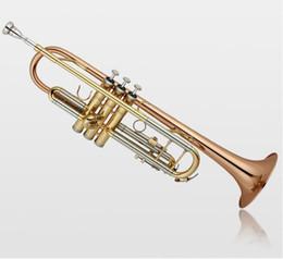 Discount phosphor bronze - Baha High Quality New Trumpet Music Instrument LT180S-72 High quality phosphor bronze B flat Trumpet Professional Perfor