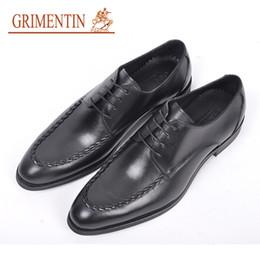 $enCountryForm.capitalKeyWord NZ - GRIMENTIN Formal Mens Dress Shoes Italian Fashion Black Brown Men Oxford Shoes Genuine Leather Pointed Toe Business Wedding Shoes RC