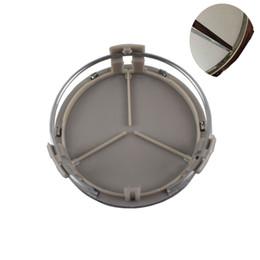 100шт/установить колеса автомобиля центр колпаки ступиц эмблема 75 мм серебряный черный логотип хром ABS звездой для Мерседес G м R S укладки