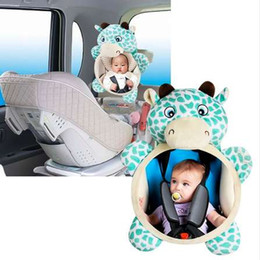 Baby View Mirror Car NZ - Wide View Rear Adjustable Safety Seat Car Back Mirror Headrest Mount For Baby
