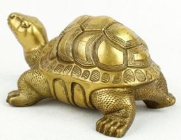 Discount turtles ornaments - Chinese-bronze-collection-handy-cute-turtle-modeling-sculpture Chinese