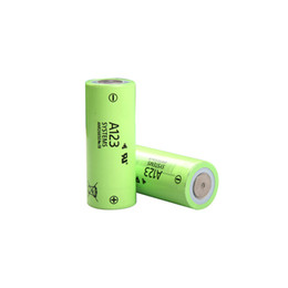 electric starters UK - Genuine cylindrical LiFePO4 26650 A123 ANR26650M1B 3.3V 2500mAh high drain rechargeable 26650 battery for electric vehicle jump starter