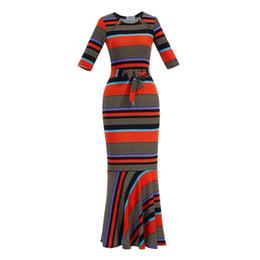 162984d63b4 sexy Vintage merimaid dress women O neck casual long flare Sleeve long dress  mesh plus size black bandage party maxi