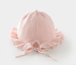 Venta al por mayor de venta caliente rosa sombreros de vendedor de periódicos para niñas tapas de invierno muy buena calidad
