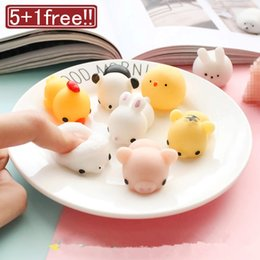 squishy toy balls NZ - 1pcs Finger Toys Squishy Mini Kawaii Squeeze Stretchy Animal Healing Antistress slime Toys stress gadget relief toys Stress ball