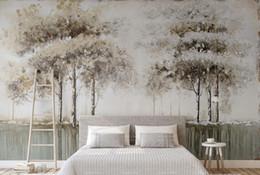 Forest Wallpaper For Bedroom Australia   Custom 3d Photo Wallpaper Fashion  European Forest Wallpaper For Living
