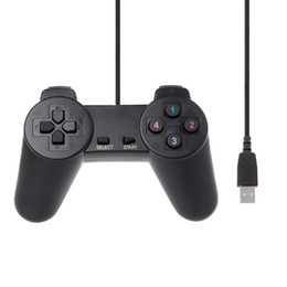 China 2018 Hot Black USB 2.0 Wired Multimedia Gamepad Joystick Game Controller for Gamepads for PC Notes New cheap old controller suppliers